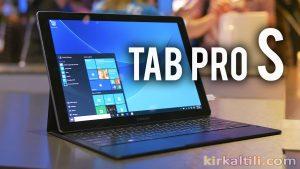 tablet bilgisayar, Samsung Galaxy TabPro S, Super AMOLED ekran