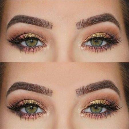 yeşil gözlülerde makyaj, yeşil göze yakışan makyaj, yeşil gözlüler nasıl makyaj yapar